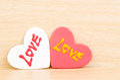 Corazón con amor Imagen de archivo