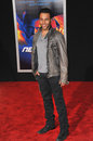 Corbin bleu los angeles ca march at the u s premiere of need for speed at the tcl chinese theatre hollywood Royalty Free Stock Images