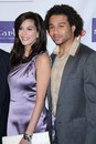 Corbin Bleu, Teri Hatcher Royalty Free Stock Photography