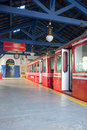 Corcovado´s train station Royalty Free Stock Photo