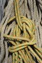 Corda de escalada Fotografia de Stock