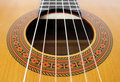 Cordas da guitarra Foto de Stock Royalty Free
