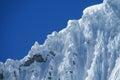 Cordillera Blanca mountain glacier