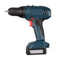 Cordless screwdriver or drill isolated on a white background with clipping path Royalty Free Stock Image