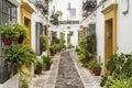 Cordoba Andalucia, Spain: street Royalty Free Stock Photo