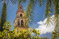 Cordoba andalucia spain tower of the mosque in Stock Images