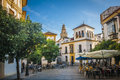 Cordoba andalucia spain tower of the mosque in Stock Photo