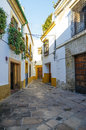 Cordoba jewish quarter streets from the traditional district of Royalty Free Stock Image