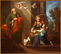 Cordoba the st joachim little virgin mary and st ann in church convento de capuchinos spain may iglesia santo anchel by unknown Stock Image