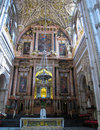 Cordobra Cathedral Altar Royalty Free Stock Image