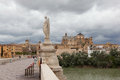 Cordova. Roman Statue On The B...