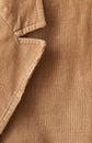 Corduroy jacket close up shot Stock Images