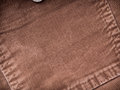 Corduroy pocket back on pants background Royalty Free Stock Photo