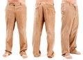 Corduroy trousers Royalty Free Stock Photo