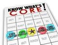 Core Competency Bingo Card Chips Win Unique Competitive Advantag