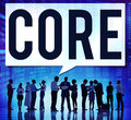 Core Core Values Focus Goals Ideology Main Purpose Concept Royalty Free Stock Photo