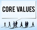 Core Values Core Focus Goals Ideology Main Purpose Concept Royalty Free Stock Photo