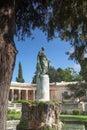 Corfu Adam Statue