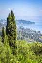 Corfu Greece Stock Photography