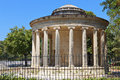 Corfu island in greece maitland s monument at ano platia of Royalty Free Stock Image