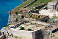 Corfu / Kerkyra Fortifications Royalty Free Stock Photos