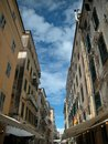 Corfu Street 1 Royalty Free Stock Photography