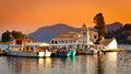 Corfu Town, Greece. Royalty Free Stock Photo