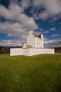 Corgarff castle aberdeenshire scotland strathdon is tower house fortress with an unusual star shaped perimeter wall built around Stock Image