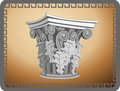 Corinthian Column Head Royalty Free Stock Photo