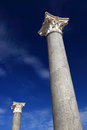 Corinthian columns Stock Photography