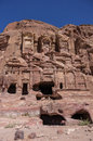Corinthian tomb one of the royal tombs petra jordan Royalty Free Stock Photography