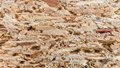 Cork background macro or texture Stock Images