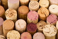 Cork from bottles Stock Images