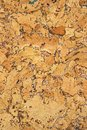 Cork panel natural material for bulletin board Royalty Free Stock Photos