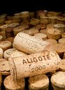 Cork wine Arkivbild