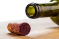 Cork of a wine bottle Royalty Free Stock Photo