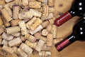 Corks on a heap Royalty Free Stock Photo