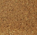 Corkwood background surface of a tile closeup texture Royalty Free Stock Photo