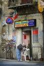 Corleone.  Sicily.  Italy. Royalty Free Stock Photo