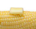Corn and Butter Closeup Royalty Free Stock Photo