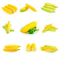 Corn cobs set Royalty Free Stock Photo