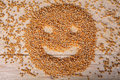 Corn few of pose a smiling face Royalty Free Stock Image