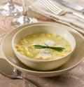 Corn fish chowder Royalty Free Stock Photo