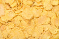 Corn flakes as a background texture healthy food for breakfast Royalty Free Stock Photography