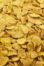 Corn flakes background Royalty Free Stock Images