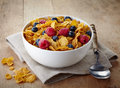 Corn flakes Royalty Free Stock Photo