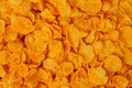 Corn flakes macro of can be used as a background Stock Image
