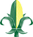 Corn Fleur-de-lis Royalty Free Stock Photo