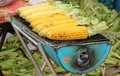 Corn grills Stock Photos