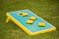 Corn-hole game Royalty Free Stock Photos